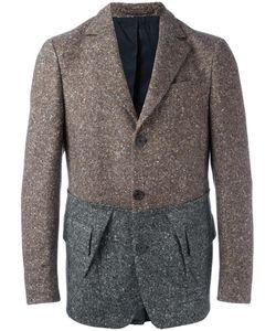 Wooster + Lardini | Three Button Blazer Mens Size 50 Wool/Nylon/Viscose/Cotton