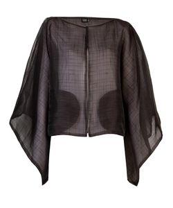 Fernanda Yamamoto | Textured Kimono Jacket Womens Size P Polyester