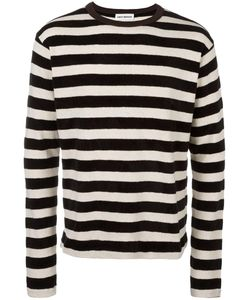 Umit Benan | Striped Pullover Mens Size Large Cotton/Acrylic
