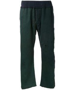 Longjourney   Straight Trousers Mens Size Medium Cotton