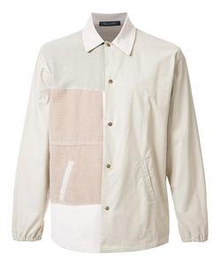 Longjourney   Patchwork Shirt Mens Size Large Cotton