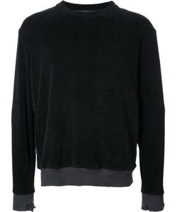 Longjourney   Round Neck Sweatshirt Mens Size Large Cotton