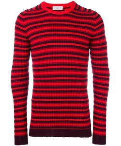 Umit Benan | Striped Jumper Mens Size 52 Wool/Polyester