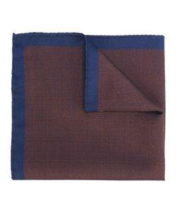 Fashion Clinic | Contrast Trim Pocket Square Mens Silk