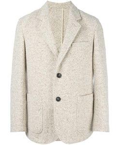 Umit Benan | Casual Black Mens Size 48 Cotton/Virgin Wool/Viscose