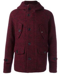 Equipe '70 | Hooded Jacket Mens Size 48 Virgin Wool/Polyester/Cotton/Polyamide