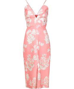 Christian Siriano | Brocade Dress Womens Size 8 Polyester