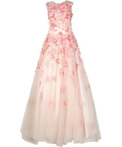 Christian Siriano | Embroidered Ball Gown Womens Size 8 Silk