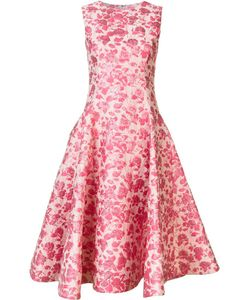 Christian Siriano | Floral Dress Womens Size 12 Nylon/Polyester/Metallized Polyester
