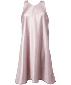 GINGER & SMART | Astral Shift Dress Womens Size 6 Grey Polyester/Viscose