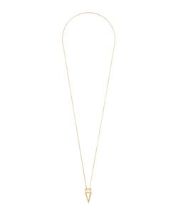 Noor Fares | Triangular Pendant Long Necklace Womens