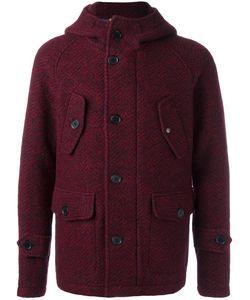 Equipe '70 | Hooded Jacket Mens Size 52 Virgin Wool/Polyester/Cotton/Polyamide