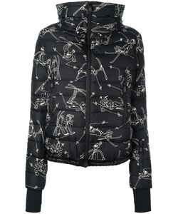 Moncler Grenoble | Printed Padded Jacket Womens Size Ii Polyamide/Polyester/Feather Down