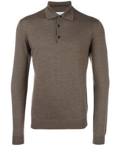 Fashion Clinic | Long Sleeved Polo Shirt Mens Size 52 Wool