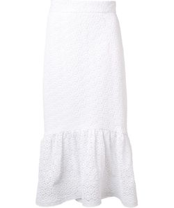 Christian Siriano | Circle Lace Skirt Womens Size 8 Cotton