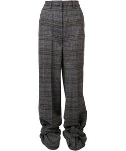 Y / Project   Checked High Waisted Trousers Womens Size 36