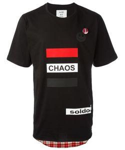 Sold Out Frvr | Multi Print T-Shirt Mens Size Large Cotton