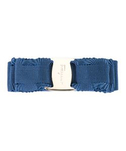 Salvatore Ferragamo   Hair Clip-On Womens Cotton/Plastic/Rayon/Brass