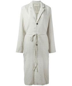 Aleksandr Manamïs   Apron Back Detail Coat Womens Size Iii Cotton/Wool