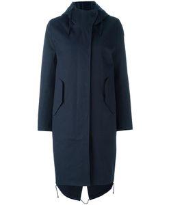 Stutterheim   Skanstull Coat Womens Size Small Cotton/Polyurethane/Nylon/Polyester