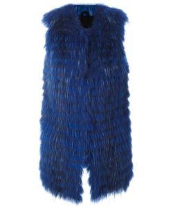 Numerootto | Long Gilet Womens Size 42 Raccoon Dog