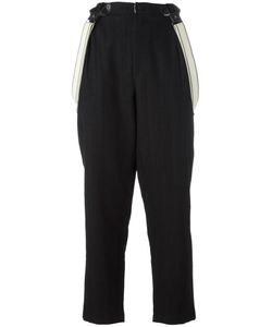 Aleksandr Manamïs   Tailored Waistband Trousers Womens Size I Wool/Cotton/Ramie
