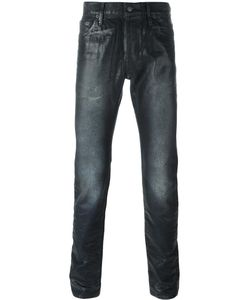 Htc Hollywood Trading Company | Coated Slim-Fit Jeans Mens Size 30
