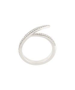 Shaun Leane | Signature Diamond Interlocking Ring Womens Size 54