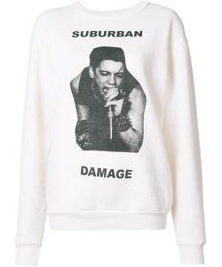Enfants Riches Deprimes | Suburban Damage Sweatshirt Womens Size Small Acetate/Cotton