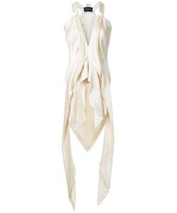 Kitx   Fluid Drape Top Womens Size 12 Silk Satin