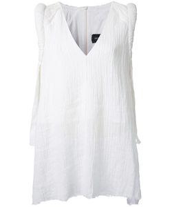Kitx   V-Neck Top Womens Size 12 Linen/Flax