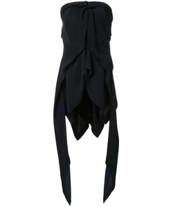 Kitx   Fluid Drape Strapless Top Womens Size 8 Silk Crepe