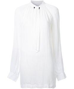 Kitx   Split Neck Shirt Womens Size 10 Silk/Viscose