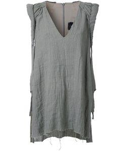 Kitx   Roll Sleeve Top Womens Size 8 Linen/Flax