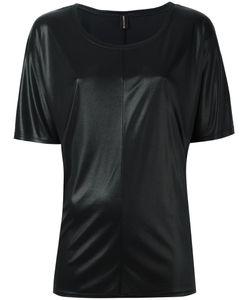 Alexandre Vauthier | Shimmer T-Shirt Womens Size 1 Polyamide/Acetate