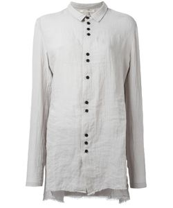 Aleksandr Manamïs   Crossback Mountain Shirt Womens Size Iii Ramie