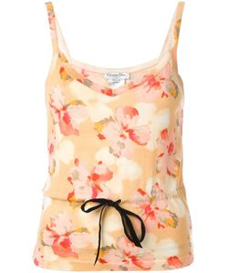 Christian Dior Vintage | Floral Print Top Womens Size 36