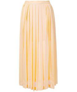 Kitx   Pleated Panelled Dkirt Womens Size 6 Silk/Viscose