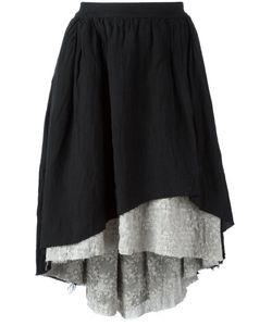 Aleksandr Manamïs   Layered Short Skirt Womens Size Ii Linen/Flax/Ramie