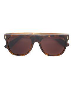 Retrosuperfuture | Flat Top Francis Havana Sunglasses Adult Unisex Acetate/Metal Other
