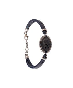 Amedeo | Embossed Skull Bracelet Womens