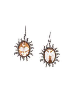 Amedeo | Sun Motif Earrings Womens