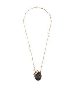 Amedeo | Embossed Face Necklace Womens