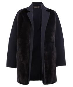 32 Paradis Sprung Frères | Reversible Open Coat Womens Size Xs