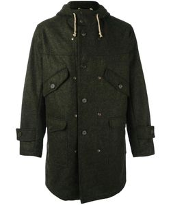 Equipe '70 | Hooded Parka Mens Size 50 Wool/Polyamide