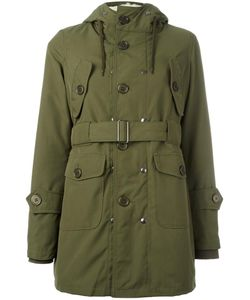 Equipe '70 | Hooded Parka Womens Size 44 Polyester/Acrylic/Polyamide