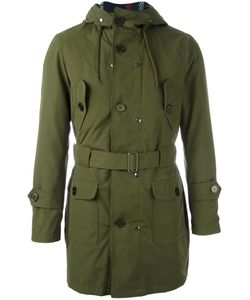 Equipe '70 | Hooded Parka Mens Size 46 Polyester/Cotton/Polyamide