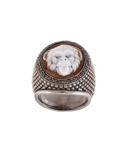 Amedeo | Embossed Monkey Ring Womens Size 7 1/2