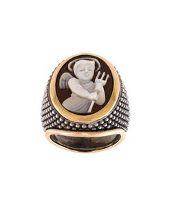 Amedeo | Embossed Devil Ring Womens Size 8 3/4