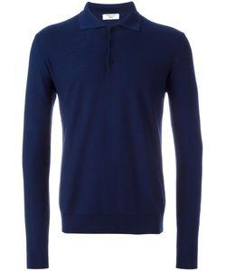 Fashion Clinic | Longsleeved Polo Shirt Mens Size 48 Wool